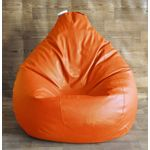 Fancy Style Homez Classic Bean Bag Cover, xxl, orange