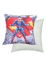 Warner Brother By MeSleep Super Man Cushion Cover, Multicolor