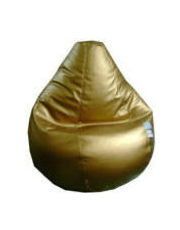 Golden Metalic Bean Bags