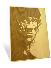 Engrave Sylvester Stallone Plaque (Multicolor)