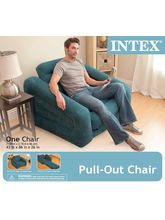Intex Pull-Out Chair, Blue