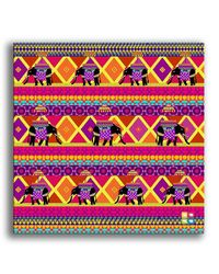 The Elephant Company Rangeen Hathi Wall Art, multicolor