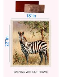 meSleep Canvas painting without frame+ Silver plated Rs. 1000 replica note, multicolor