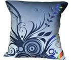 Me Sleep Coushin Covers Painted Abstract With Cushion (Blue)