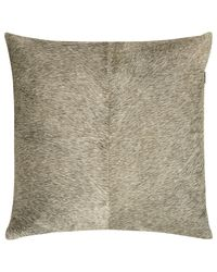 SWHF Leather Cushion Cover,  grey