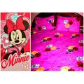 Cotton Bedsheet And Disney Towel LE-CTC-002 and LE-TWD-002, multicolor