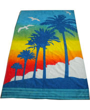 JBG Home Store Beautiful Printed Cotton Bath Towel, multicolor