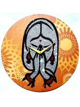 Zeeshaan Namshkaram Wall Clock, multicolor