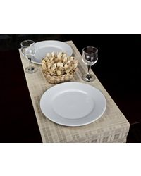 Rope Premium Talipot Table Runner - Natural, multicolor