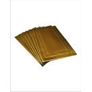 Dimensions Dining Table Mats, gold