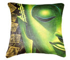 Belkado Digital Print 'Indian Saint' Cushion Cover, multicolor