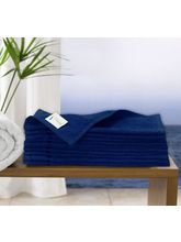 Story At Home Pure Cotton Bath Towel, Navy