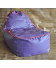 Kids Video Rocker Style Homez Bean Bag - Filled With Beans, Purple