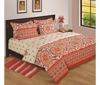 House This Archives Double Comforter, red