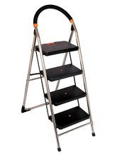 CiplaPlast Folding Stainless Steel Ladder With Chr...