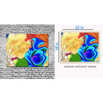 meSleep Canvas painting without frame - Painting, multicolor