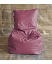 Style Homez Bean Bag - Filled With Beans, Maroon, Xl