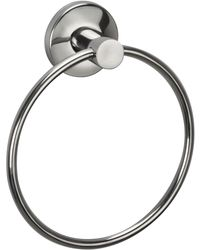 Jwell Stainless Steel Napkin Ring - Sigma Series,  silver