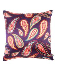 The Elephant Company Passion Violet Cushion Covers, violet