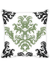Leaf Designs And Floral Pattern Cushion Cover, Mul...