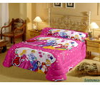 Princess Single Bedsheet With 1 Pillow Cover, multicolor