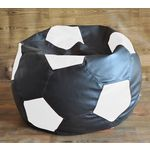 Style Homez Football Style Filled Bean Bag, xxl, multicolor