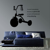 Creative Width My First Tricycle Wall Decal, multicolor, medium