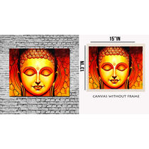 meSleep Canvas painting without frame - buddha, multicolor
