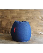 Style Homez XXL Denim Classic Bean Bag - Filled With Beans, Blue, Xxl
