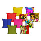 meSleep 5 Pc 3D Cushion Covers and 5 Pc Quilted Stripe Cushion Covers, design3