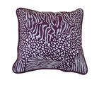 Me Sleep Set of 5 Suede with designer print Cushion Covers CSPBU-09, multicolor
