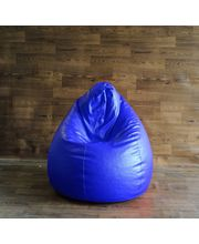 Style Homez Chair Bean Bag - Filled With Beans, Royal Blue, Xl