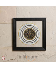 A Exciting Black Frame With Dhokra Work (Multicolor)