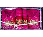 Fancy Bath Robe Set- 8 Pcs Set, multicolor