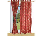 Shandar Cancer Curtain Red Window (Red)