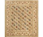 Rugkraft Indian Bloom 1443, cream, 9x8 Feet