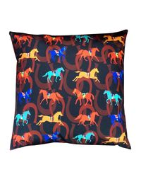 The Elephant Company Horse Shoe Cushion Covers, multicolor