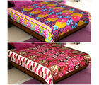 Story At Home Floral Set Of 2 Double Size Blanket, multicolor