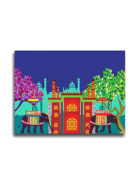 The Elephant Company Savari Wall art, multicolor