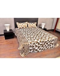 Banana Prints Elixir Bedsheets,  cream