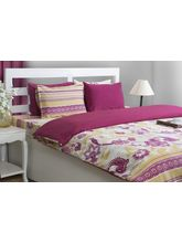 House This Blooming Berry 1 Double Dohar Cover, berry