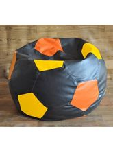Style Homez Football Style Filled Bean Bag, Multic...