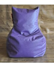Style Homez Chair Bean Bag - Filled With Beans, Purple, L