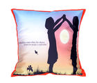 Me Sleep Silence Friend CushionCover - Cushion-Silence, multicolor