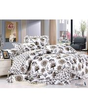 Story Stylish Single Bed Sheet with 1 Pillow cover SP1016, multicolor