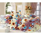 Story King Size Design Double Bed sheet EW1081, multicolor