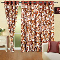 Cortina Exotic 9Ft Curtain, coffee-val