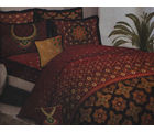 Bombay Dyeing Special Moments Trousseau 300 TC King Size Bed Sheet Set - SM-6201, maroon