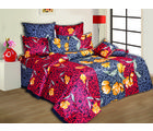 Supreme Comfort Double Bedsheet Gp-306B, multicolor