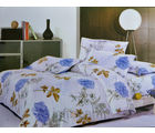 Picaso Bed sheet With Cover P001 (White)